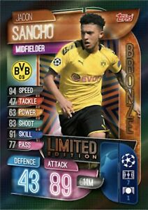 MATCH-ATTAX-2019-20-JADON-SANCHO-BRONZE-LIMITED-EDITION-LE2B-MINT