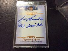 "2012 Leaf Legends Inscriptions Jose Canseco Autograph Auto ""462 Career Home Run"