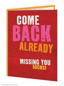 Sale missing you thinking of you greetings card brainbox candy funny image is loading sale missing you thinking of you greetings card m4hsunfo