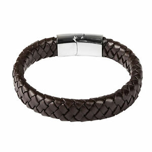 Fashion-Mens-Boys-Jewelry-Concise-Leather-Bracelet-Gifts-Friends-For-Male
