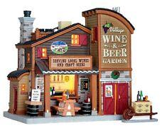 New Lemax Village Collectables -Village Wine & Beer Garden -Mini Fairy Gardens