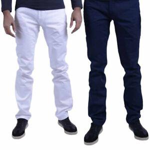 AJ-ARMANI-COLLEZIONI-tcpj-15-TCS00-Da-Uomo-Pantaloni-Chino-Pantaloni-Casual-Vestibilita-Normale