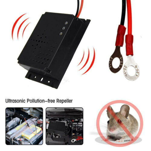 Car Vehicle Ultrasonic 12V Mouse Repeller Gauge Rat Rodent Pest Animal Deterrent