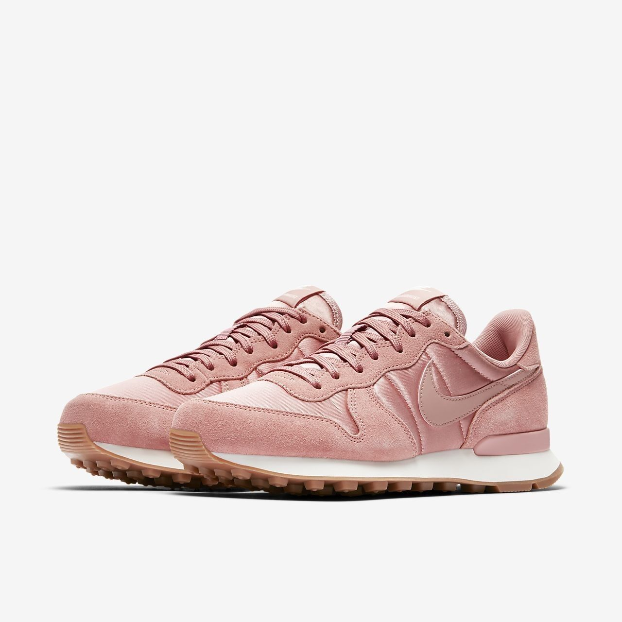 Nike Wo Hommes Internationalist 5.5; rose Trainers 828407 6105 5.5; Internationalist 6 0cce39