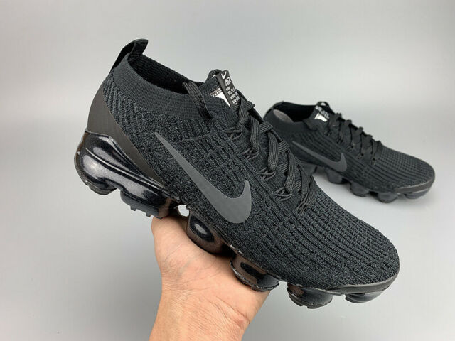 NIKE AIR VaporMax Flyknit 3 2019 Men's (Black) Running Trainers Shoes Sneaker
