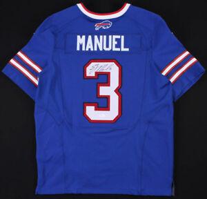 Details about E.J. Manuel Signed Buffalo Bills Nike NFL Jersey (JSA COA) Florida State Q.B.
