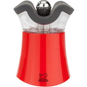 Peugeot Peps Salt Shaker & Pepper Grinder Mill in Red 830081