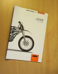 KTM-FREERIDE-350-2013-manuel-d-039-utilisateur-owner-039-s-manual-EU-AUS-neuf-new
