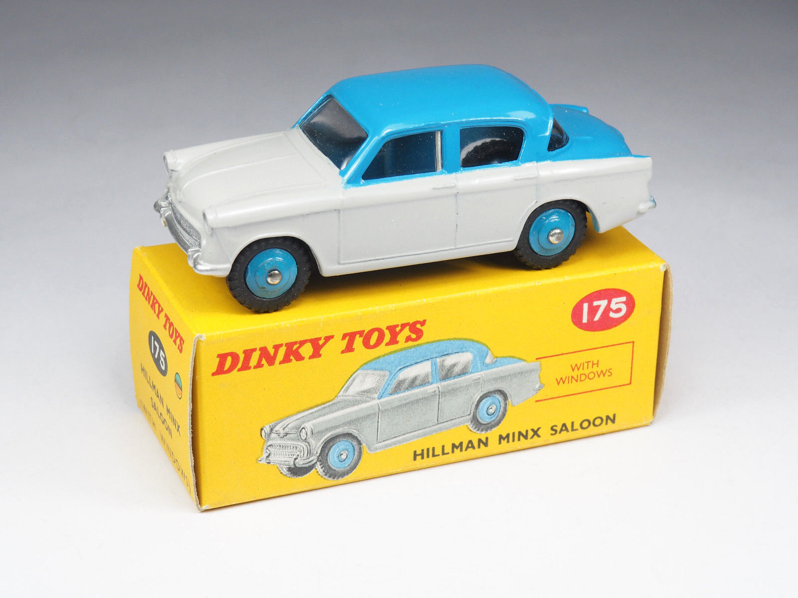 Dinky toys england - 175-hillman minx saloon - 1 43e