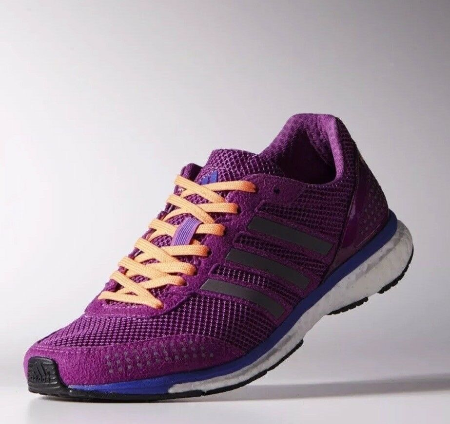 140 Adidas ADIZERO ADIOS 2 Boost B41001 Women's Running shoes Size 10