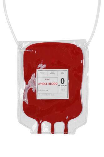 Kostüm Zubehör Tasche Handtasche Blutbeutel Krankenschwester WIL