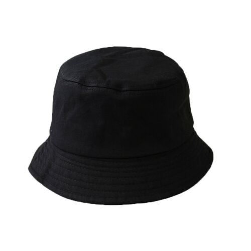 Trendy Summer Foldable Bucket Hat Outdoor Sunscreen Hats Fishing Hunting Cap HH