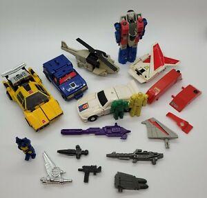 Vintage 1980's Transformers G1 accessory/parts lot! **Read**