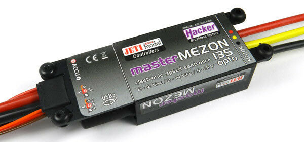 Jeti Duplex EX Master MEZON 135  Opto Brushless Regolatore in tempo reale telemetria DC 16  acquistare ora