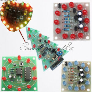 Image is loading DIY-Kits-LED-Interest-Electronic-Production-DIY-Creative- & DIY Kits LED Interest Electronic Production DIY Creative Christmas ...