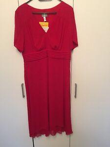 Abendkleid 42 44 46 Neu Witt Weiden Fair Lady Rot Kleid Hochzeit