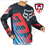 thumbnail 2 - Roadriders' Motorcycle Dry Fit Jersey Longsleeve with Gear Set - Large