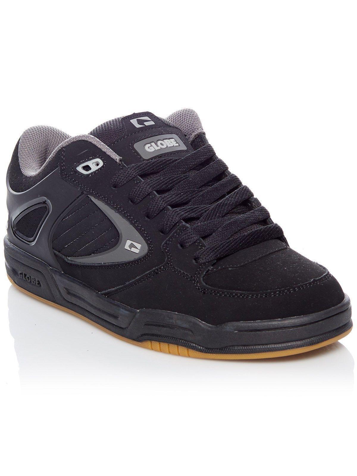 Skate-Schuhe Globe Schuhe charcoal Neigung Agent schwarz schwarz charcoal Schuhe Mann Frau Schuhe a96834