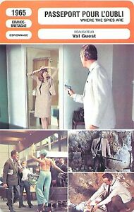 FICHE-CINEMA-GB-Passeport-pour-l-039-oubli-Where-the-spies-are-Realisateur-Val-Guest