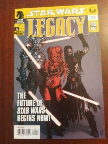Star Wars Legacy 1; (Dark Horse 06); 1st Darth Talon, Krayt, Nihl Cade Skywalker