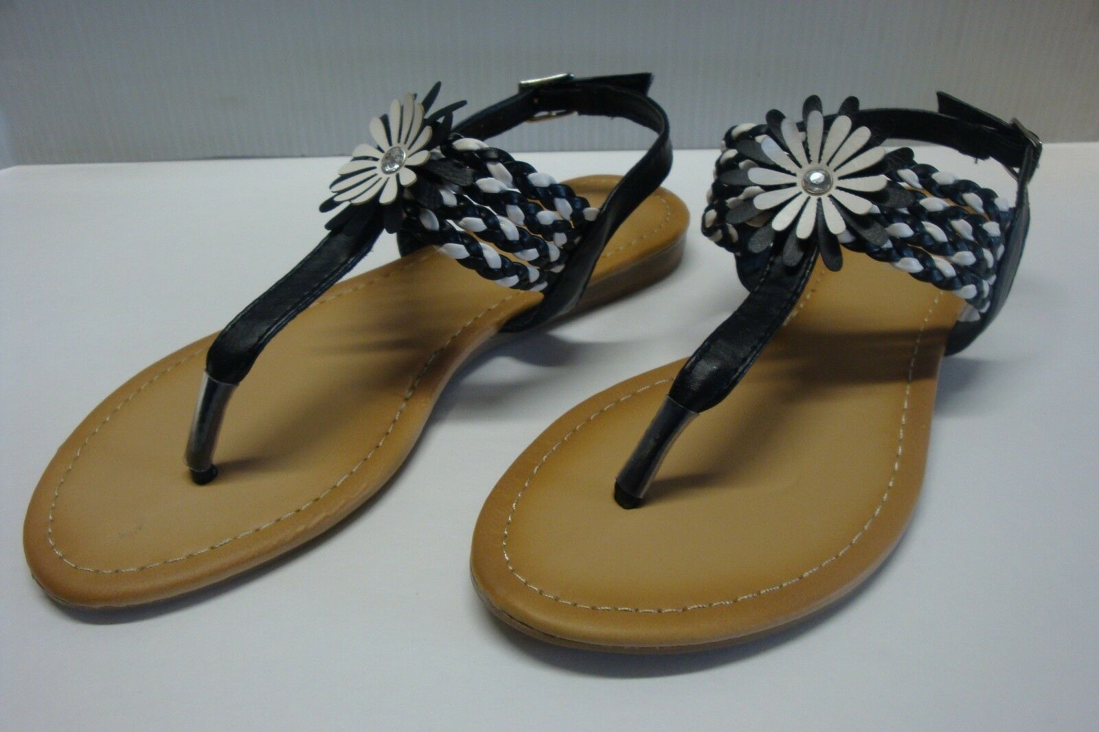 Women's Sandals T-Strap Flat Thong Fashion Sandals Women's Shoes 594b74
