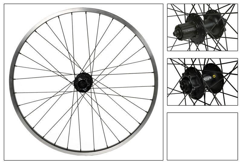 WM Wheels 26x1.5 559x22 Sun Rhyno Lite Bk Msw 32 M525 8-10scas bk 135mm Dt2.0bk