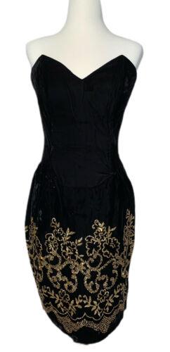 VINTAGE Jessica McClintok Gunne Sax Womens Dress M
