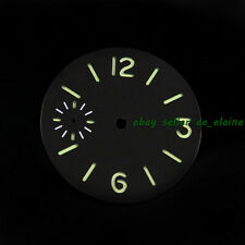 Parnis 34.5mm Luminous Watch Dial Fit Unitas ETA 6497 Seagull Hand Winding Watch