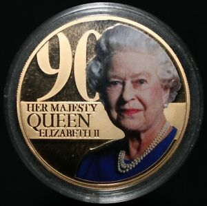 2015-Guernsey-Elizabeth-II-90th-Birthday-Fifty-Pence-Coins-KM-Coins