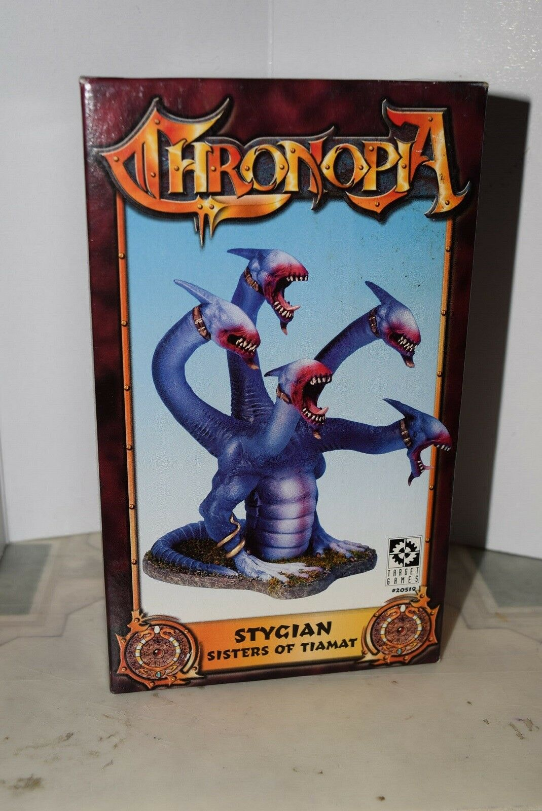 CHRONOPIA Stygian hermanas de Tiamat  Caos de Warhammer elfos oscuros hidra (Khaine)