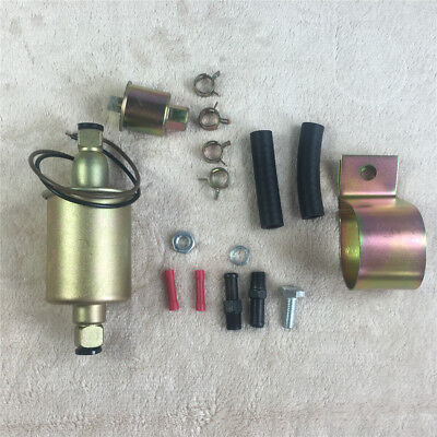 UNIVERSAL ELECTRIC FUEL PUMP GAS DIESEl CARBURETED WITH INSTALLATION KIT E8012S