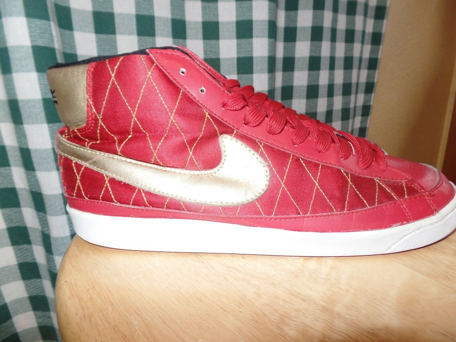 Nike Trainer Blazer Mid '08 Shoe  371761-681 Basketball Trainer Nike Red Gold size 11 35773b