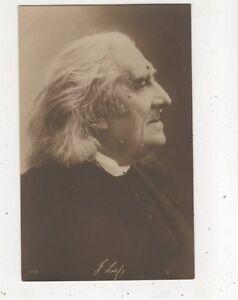 Franz Liszt Composer Vintage RP Postcard Music 613b - Aberystwyth, United Kingdom - Franz Liszt Composer Vintage RP Postcard Music 613b - Aberystwyth, United Kingdom