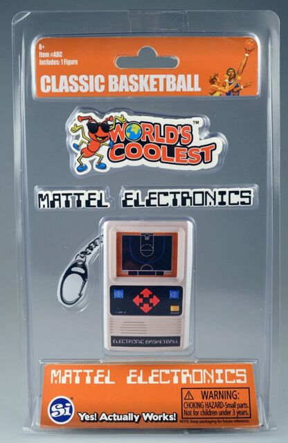 World/'s Smallest Coolest Mattel Electronics Classic Basketball Game 534 for sale online
