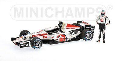 Minichamps 060112 Honda F1 Modelo Jenson Button 1st Win Gp Hungría 2006 1:43 rd