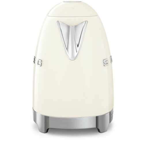 Smeg KLF04CRUK Cream Retro 50/'s Style Kettle With Variable Temperature 1.7L NEW