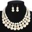 Women-Bohemian-Choker-Chunk-Crystal-Statement-Necklace-Wedding-Jewelry-Set thumbnail 127