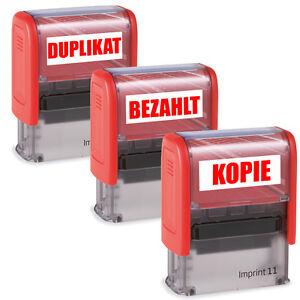 Stempel-Firmenstempel-Buerostempel-Bezahlt-Gebucht-Erledigt-Duplikat-Kopie