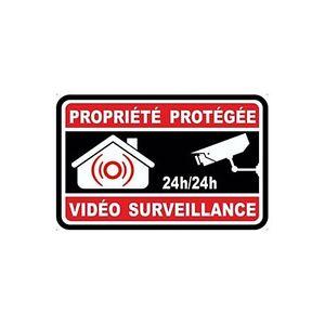 Autocollant-propriete-sous-video-surveillance-alarme-logo-n-8-sticker-10x10-cm
