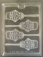 Pilgrim Face Lollipop Thanksgiving Chocolate Candy Mold Molds Party