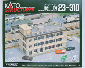 Details about Kato N Scale 23-310 Industrial Building Kit