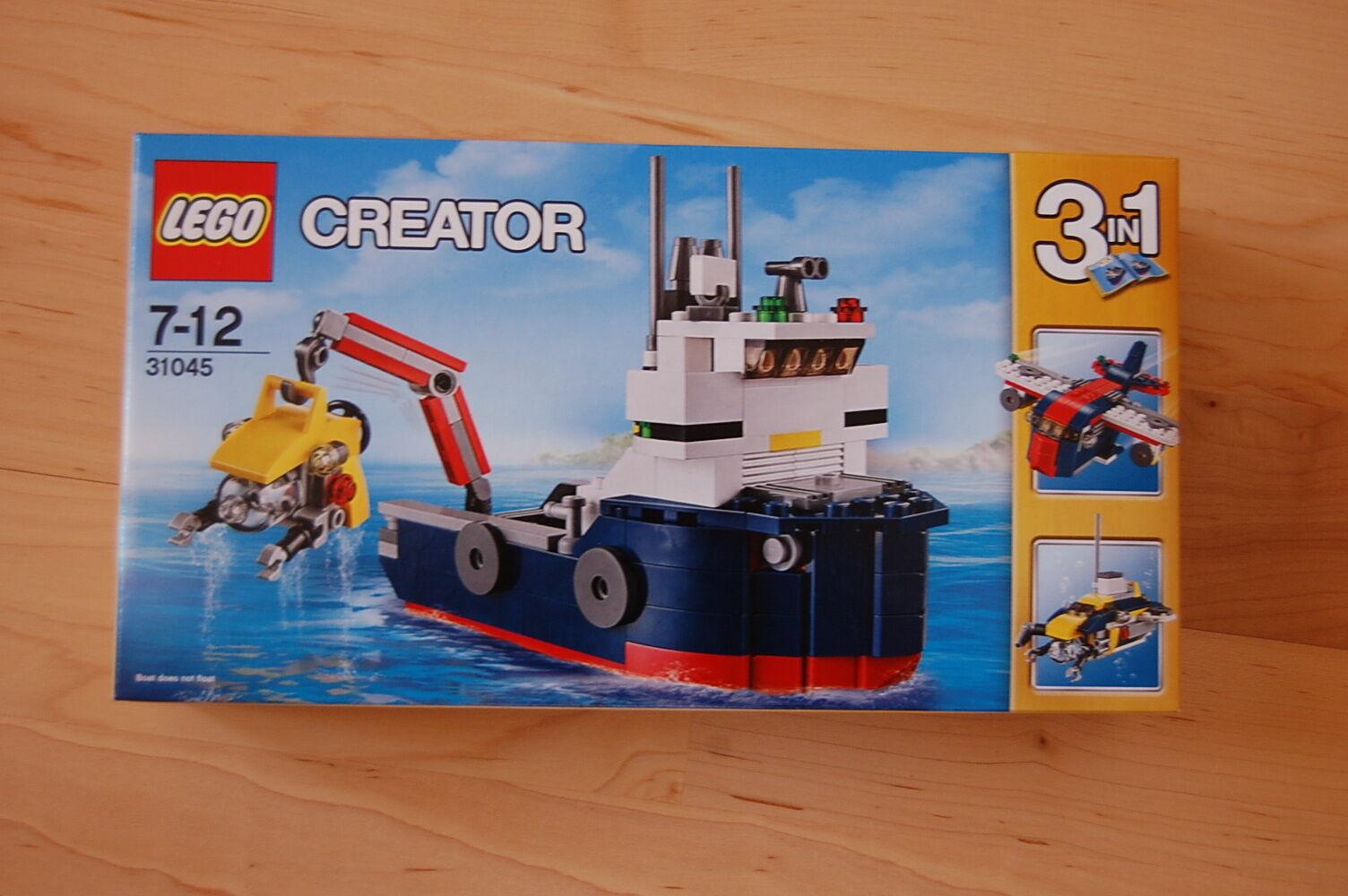 Lego Creator   Erforscher der Meere 31045  Neu Neu Neu OVP a54256
