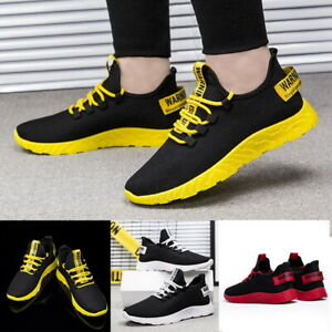 Men-039-s-Running-Breathable-Shoes-Sports-Casual-Walking-Athletic-Sneakers-36