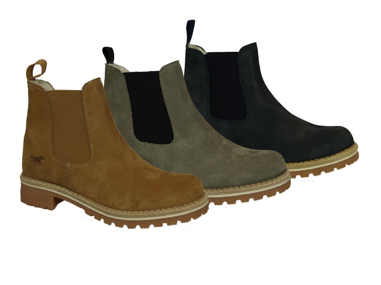 Mustang 2871-605 zapatos señora botines botas Chelsea