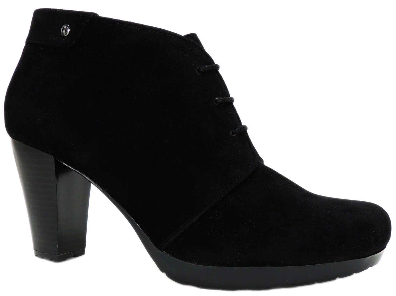 Giani Bernini para mujeres Con Cordones Botines Odele Negro M
