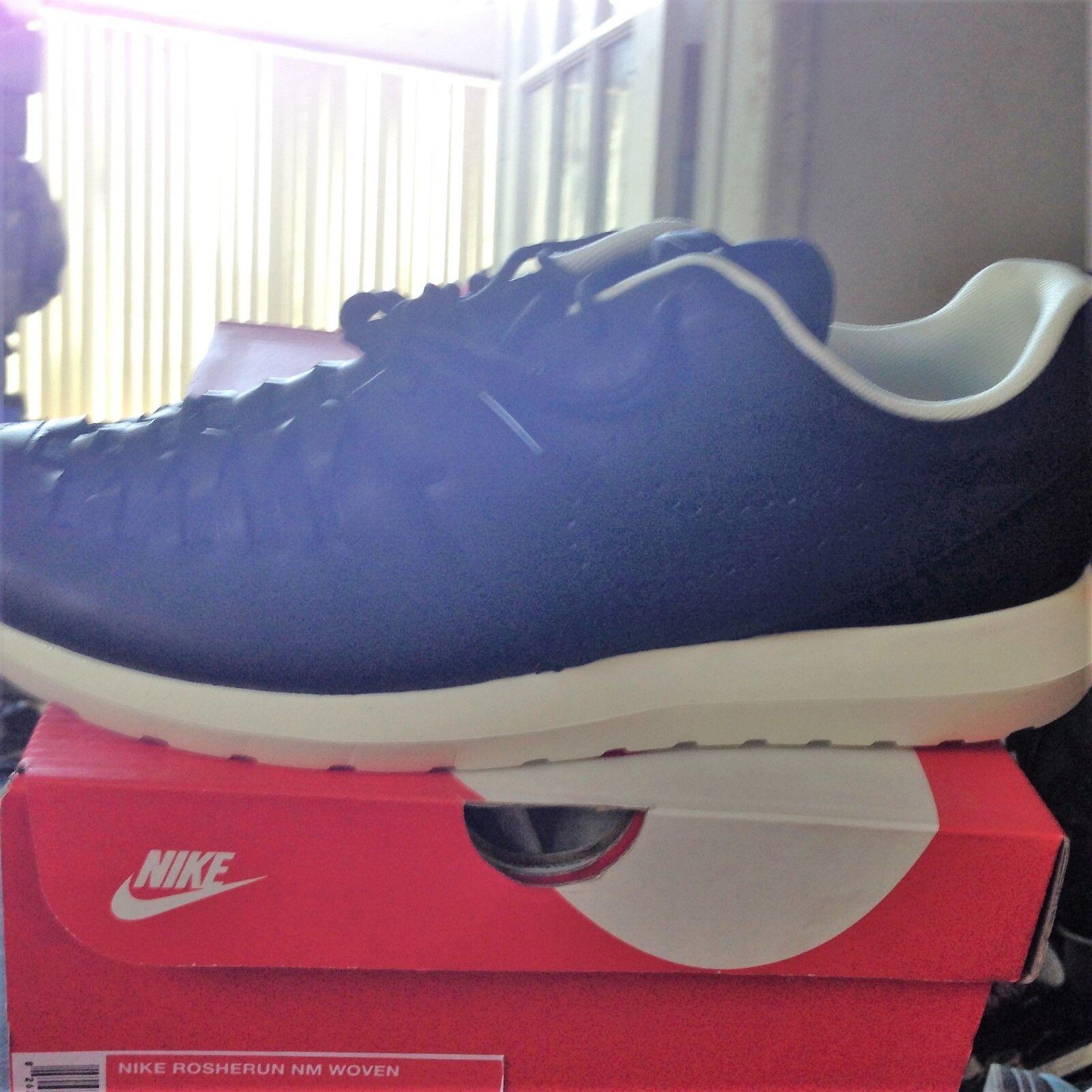 Nike rosherun nm, tessuti, bnib bnib bnib 44 blk / blk / vela scorte morte 7760e5