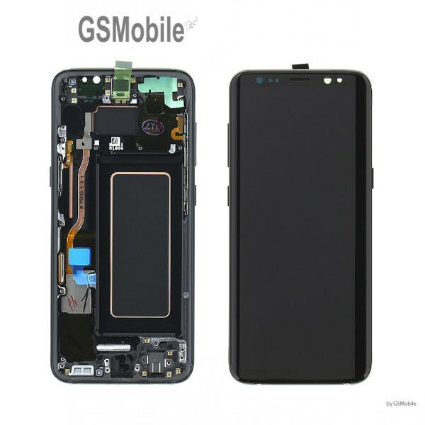 Original Display Pantalla LCD Touch Ecran Marco Samsung Galaxy S8 G950F Negro