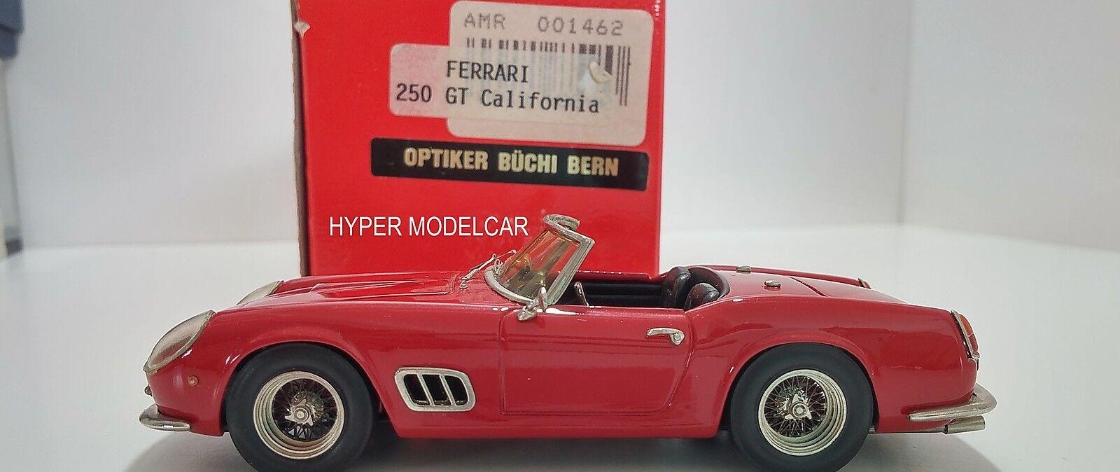 AMR 1 43 Ferrari 250 GT California Spider  Fari Carenati  1957 rouge Art. 001462