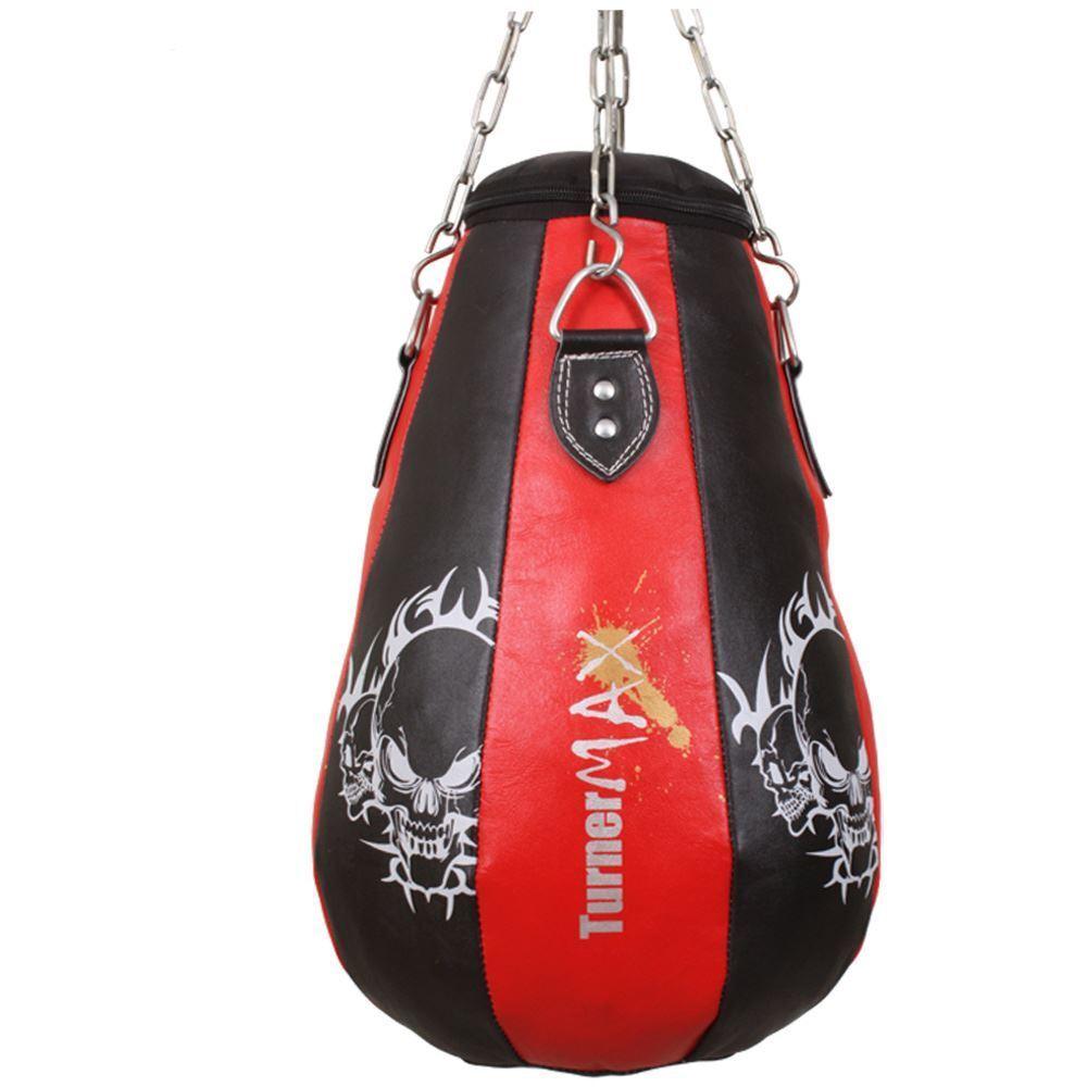 TurnerMAX Cuero Bolsa De Maíz Boxeo Ejercicios Entrenamiento MMA Artes Marciales