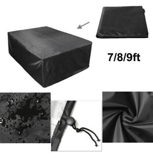 7 8 9ft Polyester Waterproof Fabric Outdoor Pool Snooker Billiard